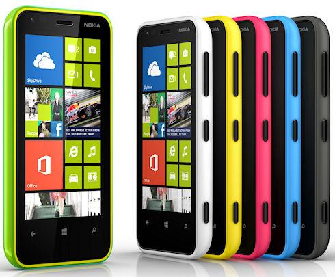 Начались российские продажи Lumia 620