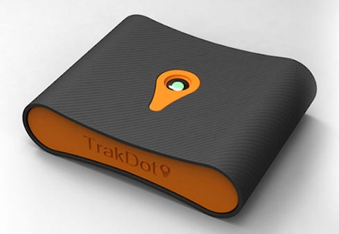 Trakdot Luggage Tracker не даст потеряться багажу