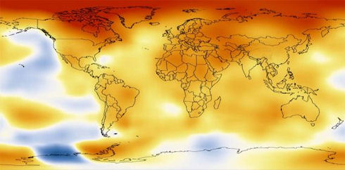 Климат на планете становится все теплее