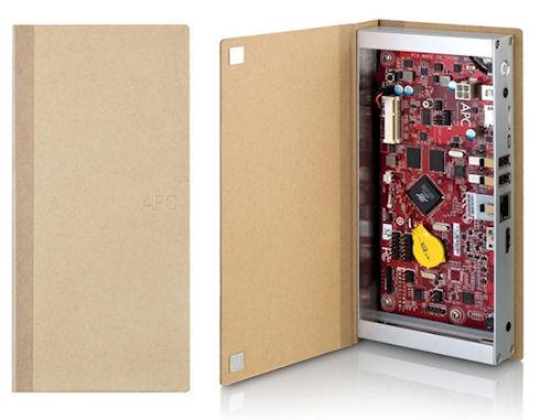 Компьютер-книжка APC Paper Mini PC