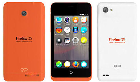Mozilla выпустила очередной смартфон на Firefox OS