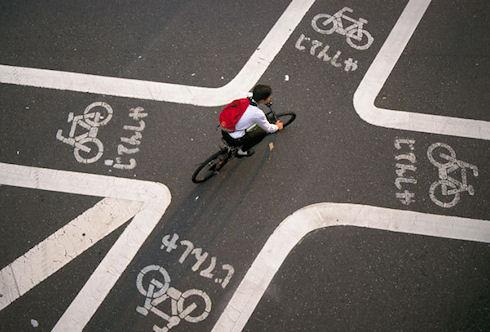 В Голландии создан вибронавигатор для велосипедистов