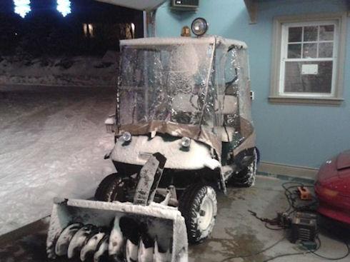 Snowpig – экологически чистый снегоуборщик