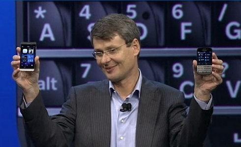RIM превратилась в BlackBerry и представила новые смартфоны