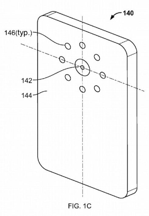 Google придумала смартфон с 8 вспышками