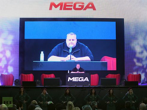 Облачное хранилище MEGA получило первые жалобы от правообладателей