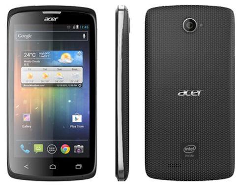 Acer Liquid C1 - смартфон на базе Intel Atom