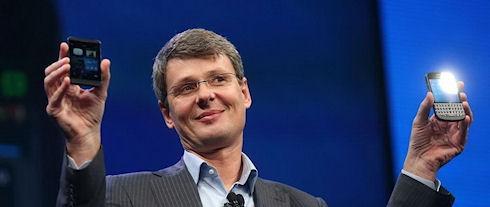 Акции BlackBerry упали в цене после презентации BlackBerry 10