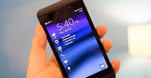 Mashable назвала BlackBerry 10 «слишком сложной»