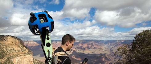 Google представила виртуальный тур по Большому каньону