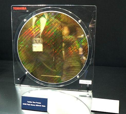 19-нанометровая NAND-память от Toshiba