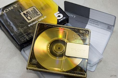 Sony прекращает производство MiniDisc