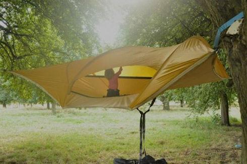 Палатка Stingray: туристы осваивают птичий образ жизни