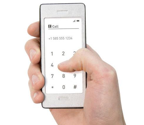 Стильный концепт смартфона: секрет в простоте