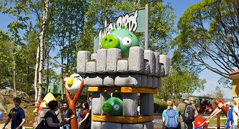 В 2013 году в России появится парк Angry Birds