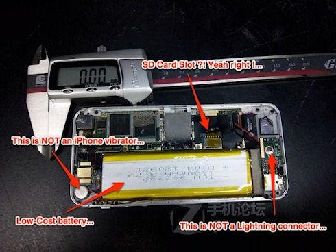 Фото iPhone 5S оказались подделкой