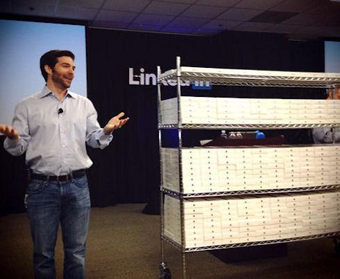 LinkedIn подарила своим сотрудникам iPad mini