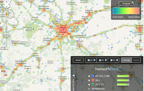 Результаты исследования скорости LTE-сетей