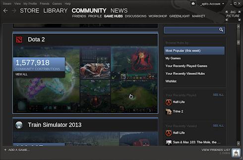 Valve открыла Steam для пользователей Linux