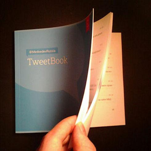 Tweetbook – ваша книга твитов