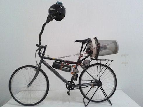 Breathing Bike – велосипед, который дышит