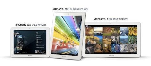 Новые планшеты ARCHOS Platinum