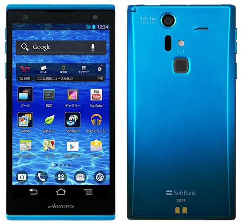 Новый смартфон Fujitsu Arrows A 201F