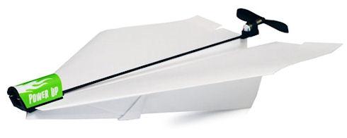 PowerUp 3.0 – подъемная сила для бумажных самолетов