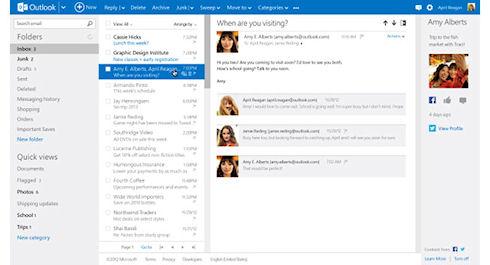 Microsoft официально запустила Outlook.com