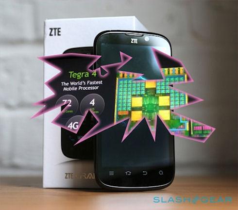 ZTE анонсировала смартфон на Tegra 4