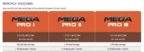 Облако MEGA начинает работу с Bitcoin