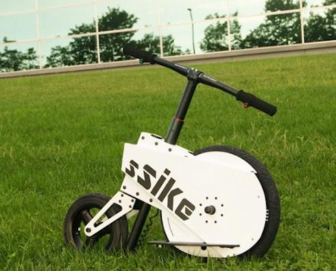 Электроскутер SSIKE – на работу с ветерком!