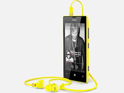 Nokia представила дешевые смартфоны Lumia 520 и 720