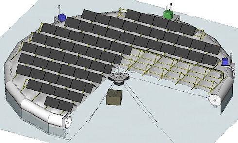 В Швеции создадут острова для добычи солнечной энергии
