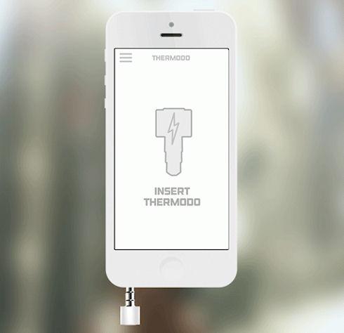 Thermodo — термометр для смартфонов