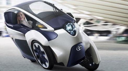 Toyota i-Road – компактный городской электрокар