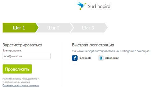 Surfingbird - твой персональный интернет