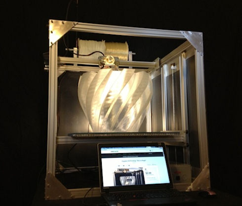 Gigabot 3D Printer – народный 3D-принтер