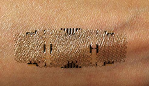 В США созданы нательные медицинские датчики