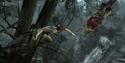 Tomb Raider ворвался в британский игровой чарт