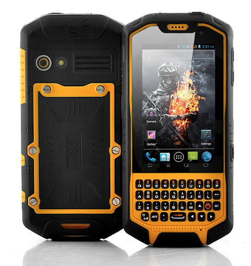Солидный смартфон Runbo X3
