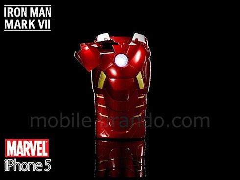 Чехол для iPhone 5 в виде костюма Железного человека