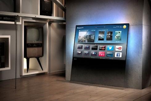 Стеклянные телевизоры Philips DesignLine TV