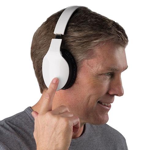 Finger Swipe Headphones – сенсорные наушники для смартфона