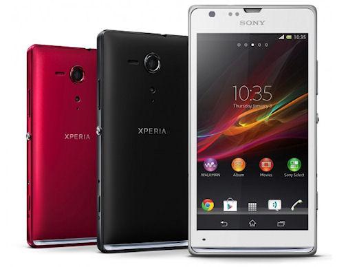 Sony начинает европейские продажи Xperia SP