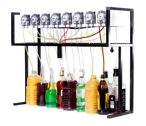 Робот-бармен Bartendro на основе компьютера Raspberry Pi