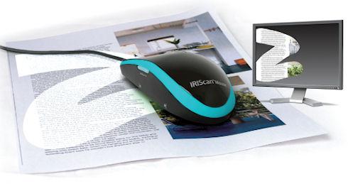 Недорогая мышь-сканер IRIScan