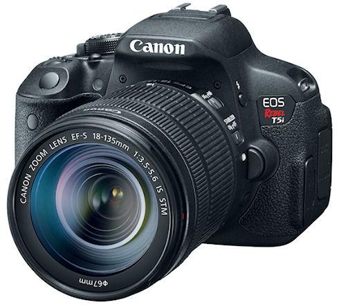 18-мегапиксельная камера Canon EOS Rebel T5i