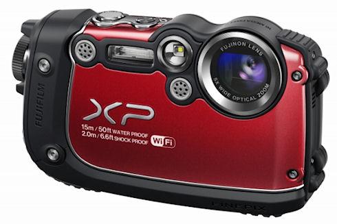 Защищенная Wi-Fi-камера Fuji FinePix XP200