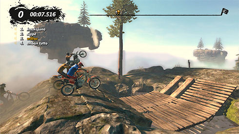PC-версия игры Trials Evolution от Ubisoft